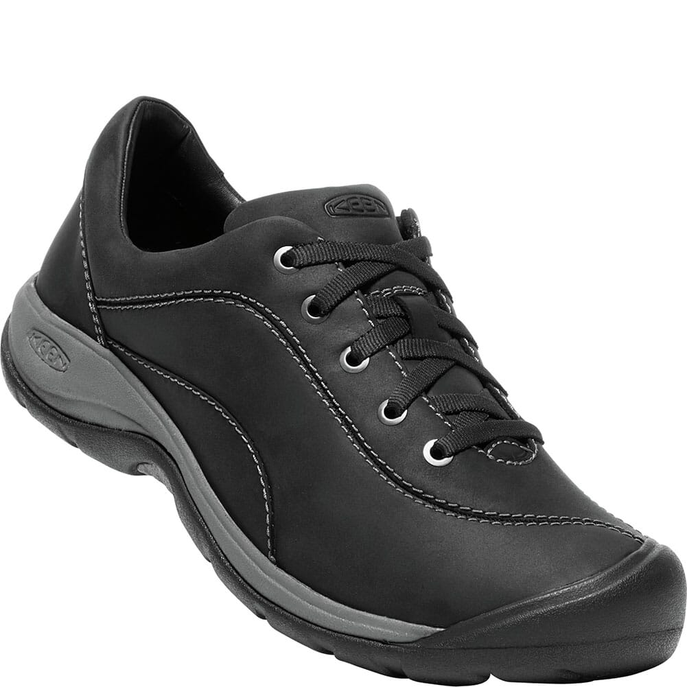 Image for KEEN Women's Presidio II Casual Shoes - Black/Steel Grey from bootbay