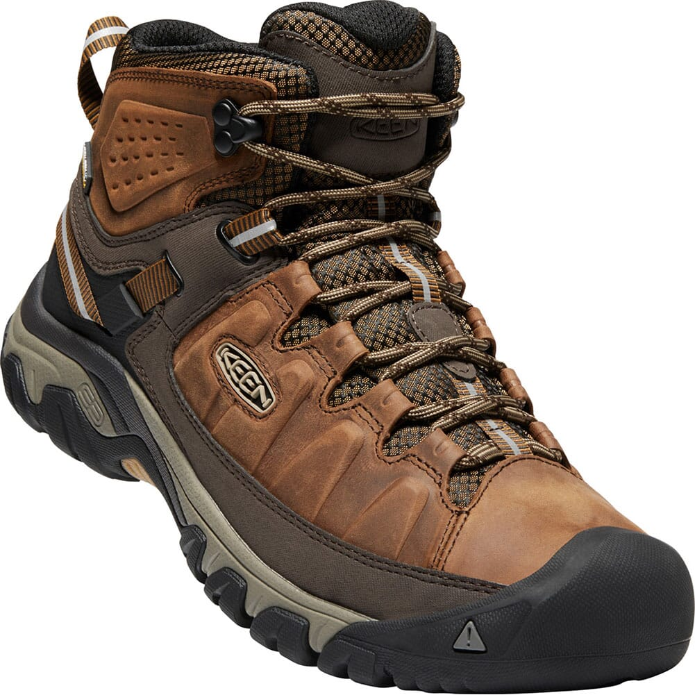 Image for Keen Men's Targhee III Mid Hiking Boots - Golden Brown from bootbay