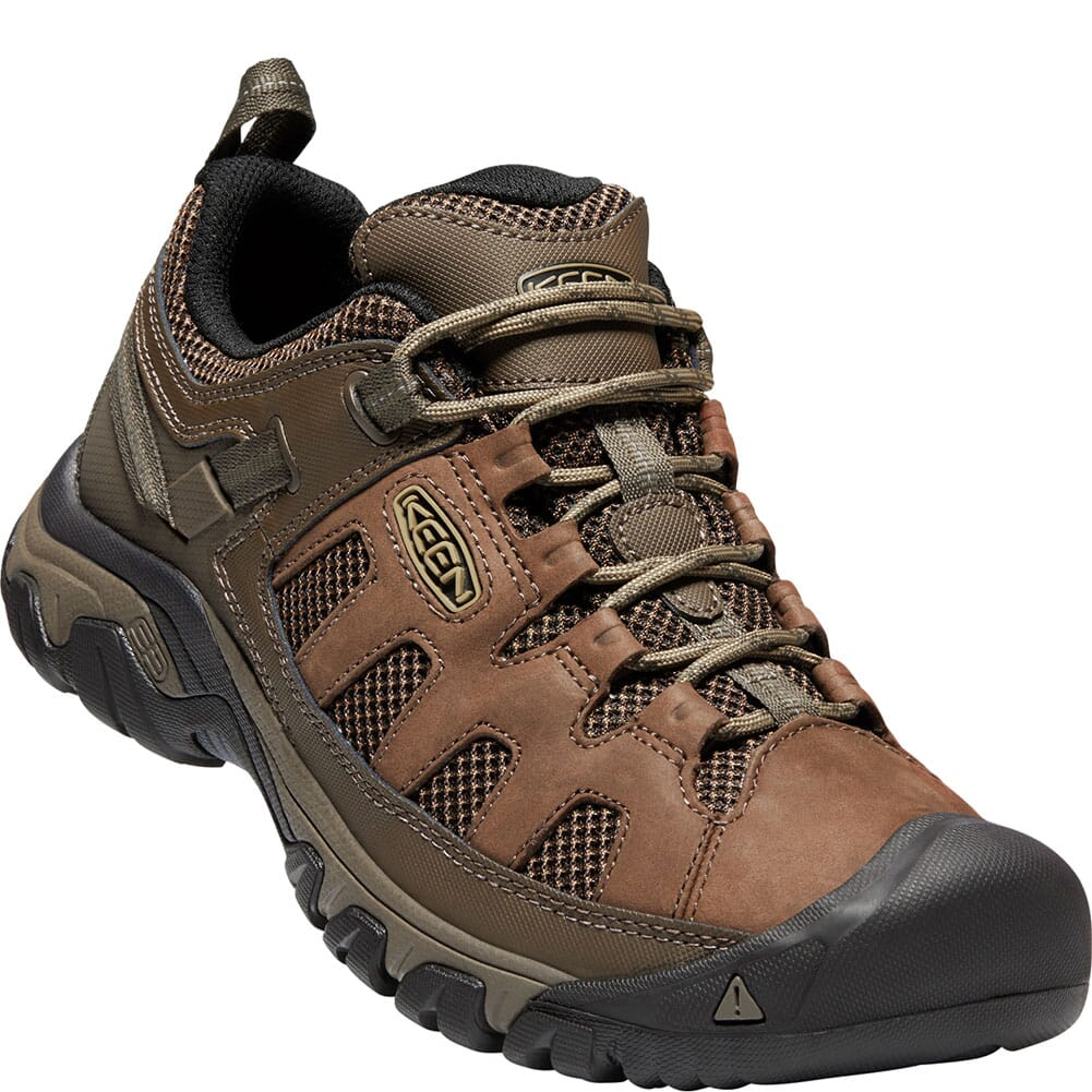 Image for KEEN Men's Targhee Vent Hiking Shoes - Cuban/Antique Bronze from bootbay