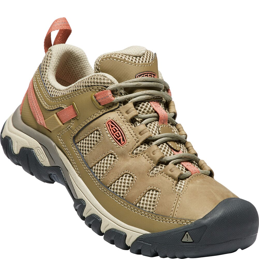 Image for KEEN Women's Targhee Vent Hiking Shoes - Sandy/Cornstalk from bootbay