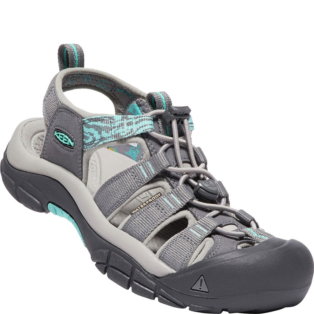 Image for KEEN Women's Newport Hydro Sandals - Steel Grey/Blue from bootbay