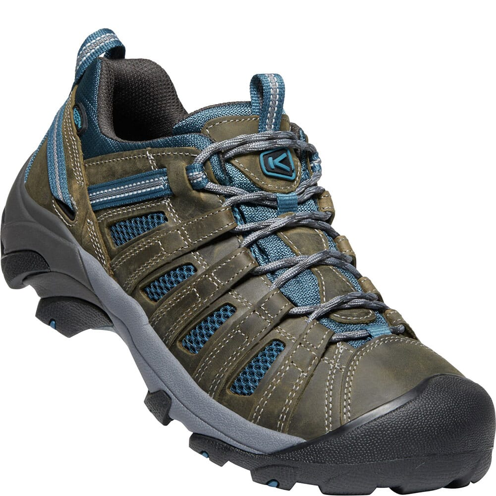 Image for KEEN Men's Voyageur Hiking Shoes - Alcatraz/Legion Blue from bootbay