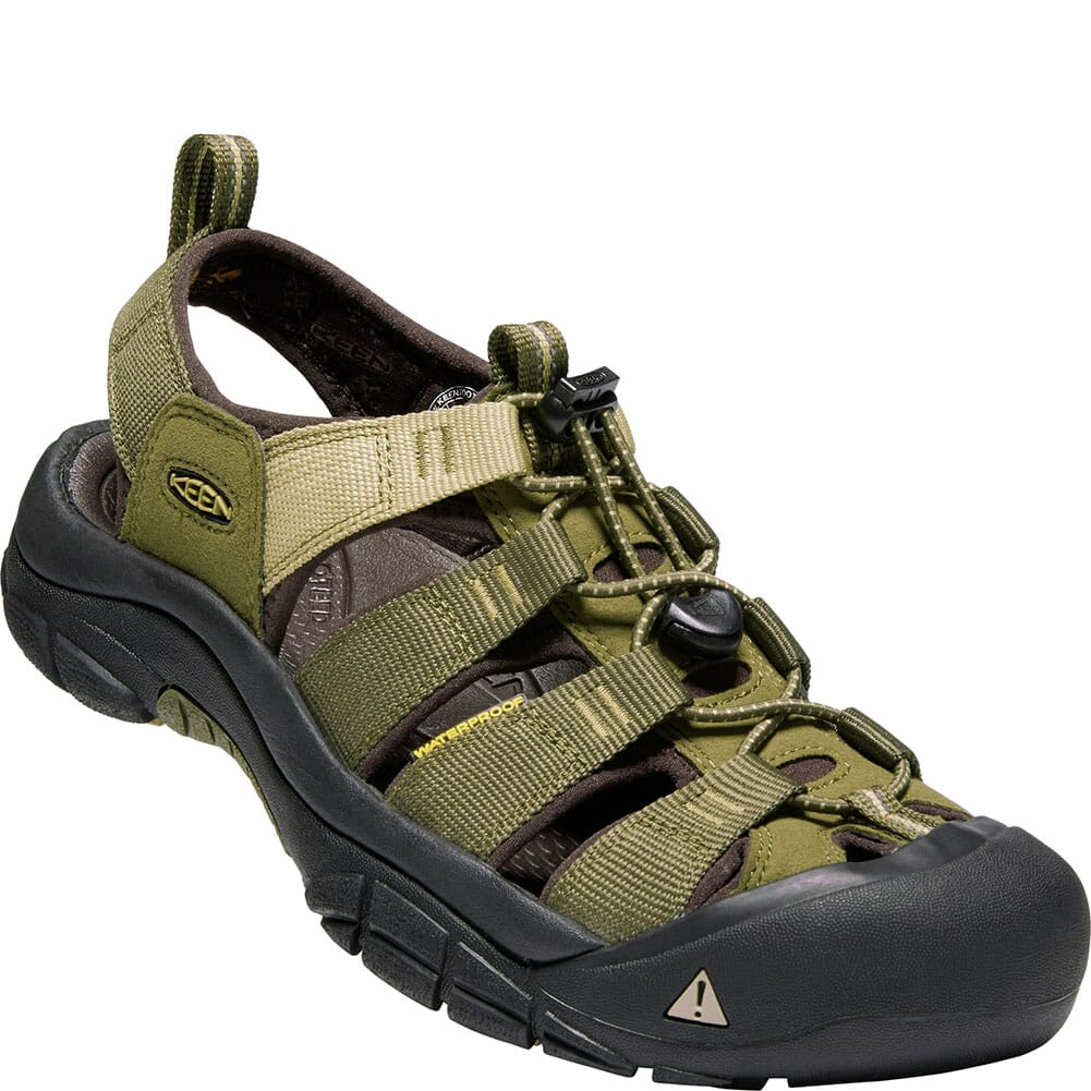 Image for KEEN Men's Newport Hydro Sandals - Dark Olive from bootbay