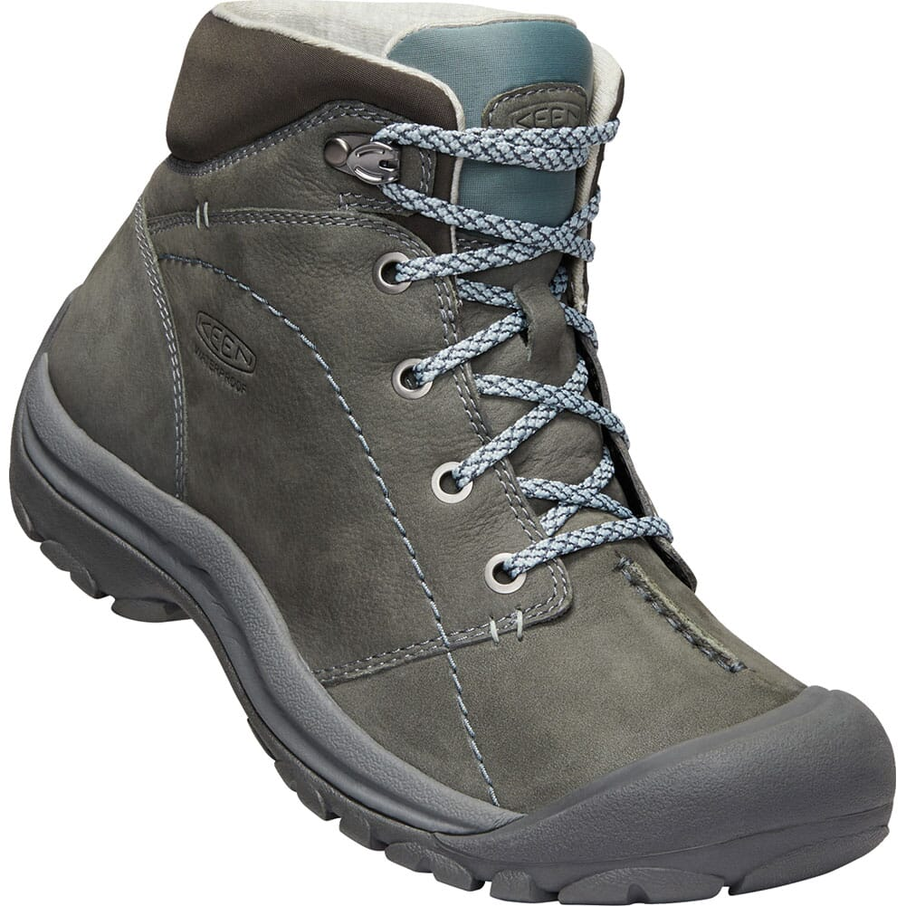 Image for KEEN Women's Kaci Winter Mid Hiking Boots - Turbulence/Stormy Weather from bootbay