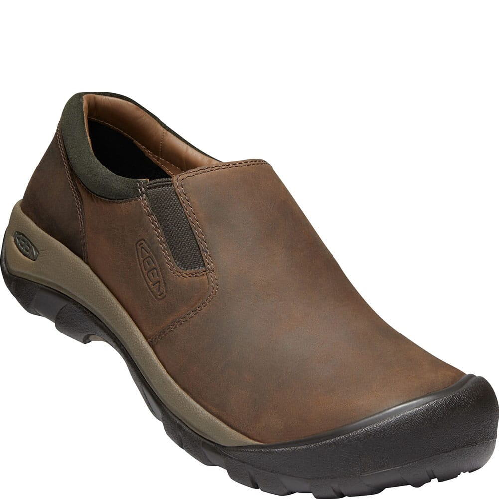 Image for KEEN Men's Austin Casual Slip-On - Chocolate Brown from bootbay