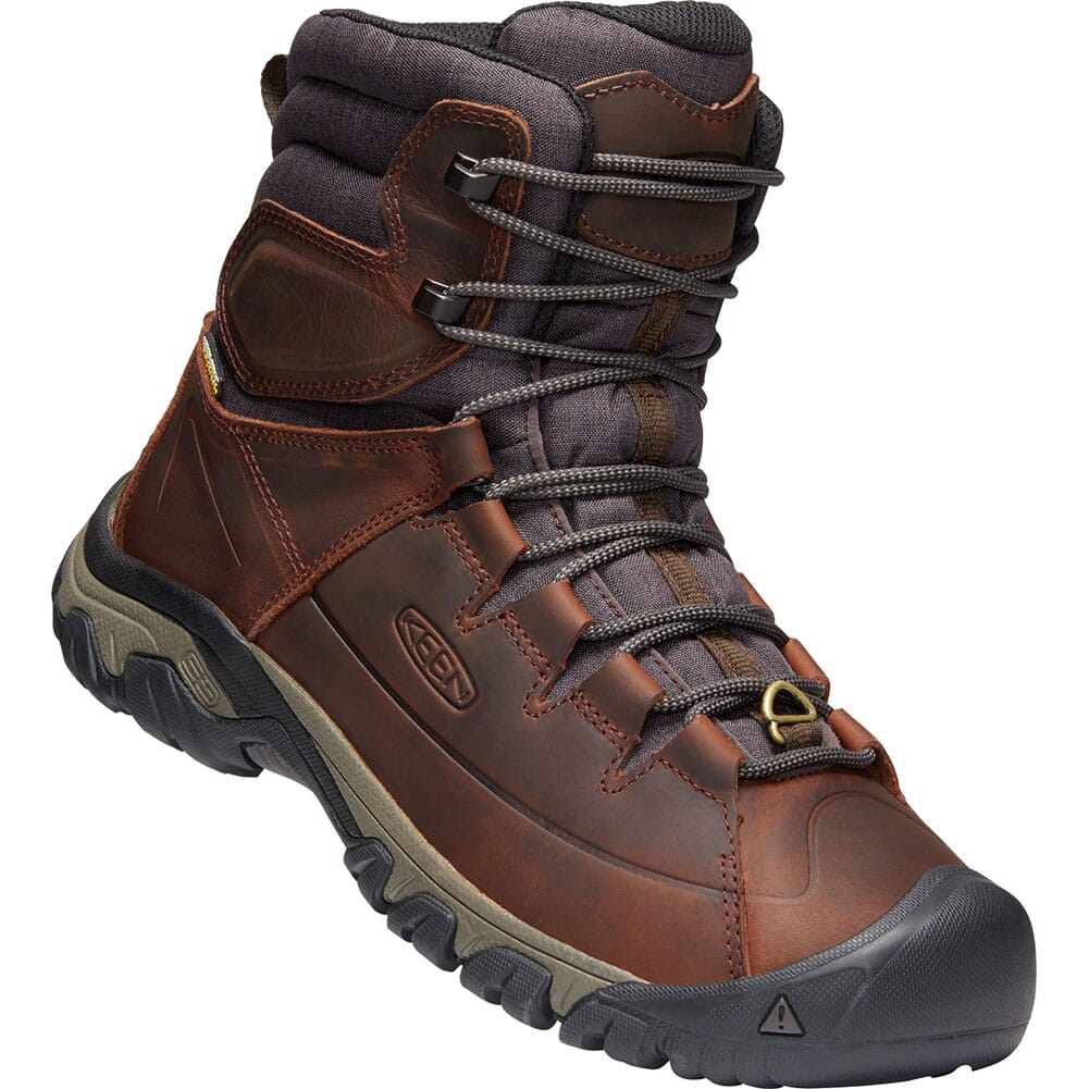 Image for KEEN Men's WP Targhee Lace High Hiking Boots - Cocoa/Mulch from bootbay