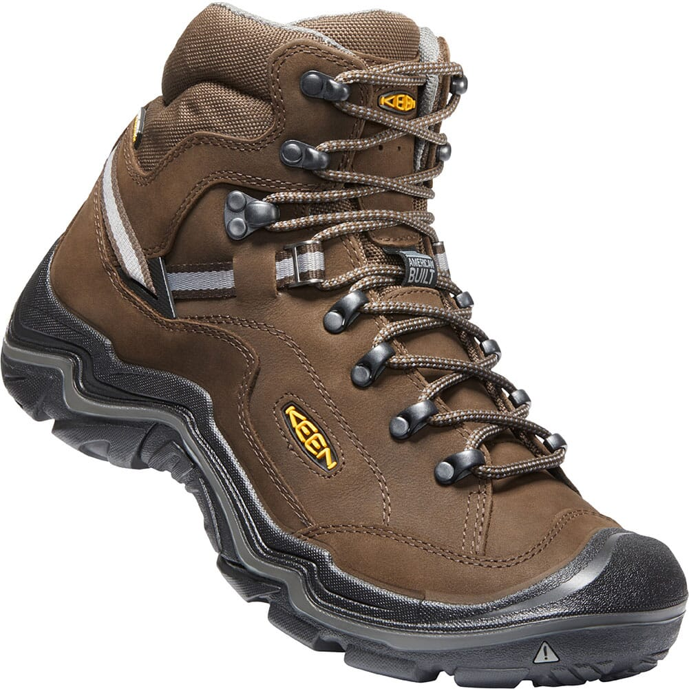 Image for KEEN Men's Durand II Mid WP Wide Hiking Boots - Cascade Brown from bootbay