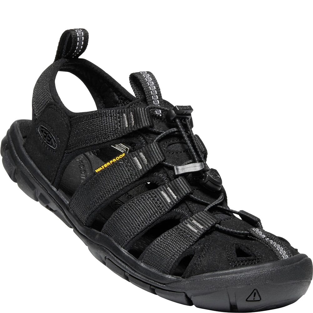 Image for KEEN Women's Clearwater CNX Sandals - Black/Black from elliottsboots