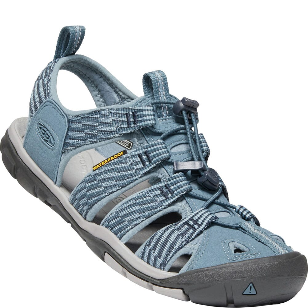 Image for KEEN Women's Clearwater CNX Sandals - Blue Mirage/Citadel from elliottsboots