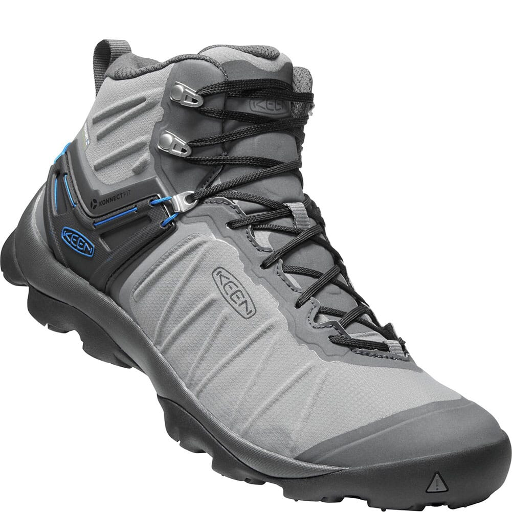 Image for KEEN Men's Venture Mid WP Hiking Boots - Steel Grey/Magnet from bootbay