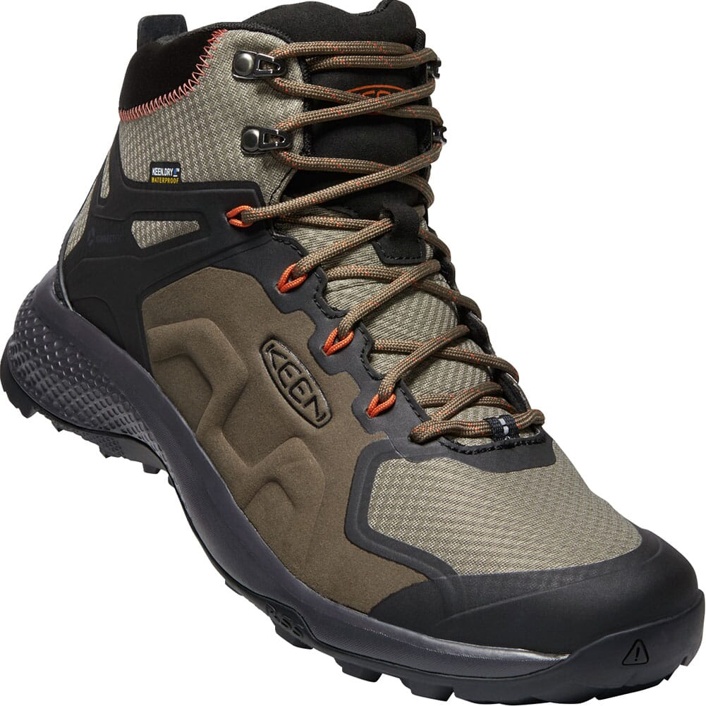 Image for KEEN Men's Explore WP Hiking Boots - Canteen/Brindle from bootbay