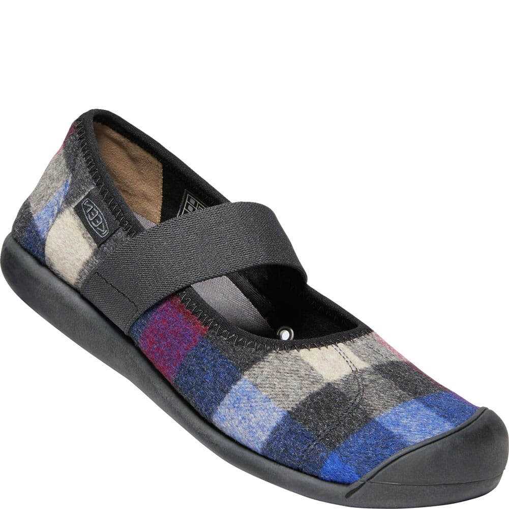 Image for KEEN Women's Sienna Mary Jane Plaid Casual Shoes - Multi/Black from bootbay