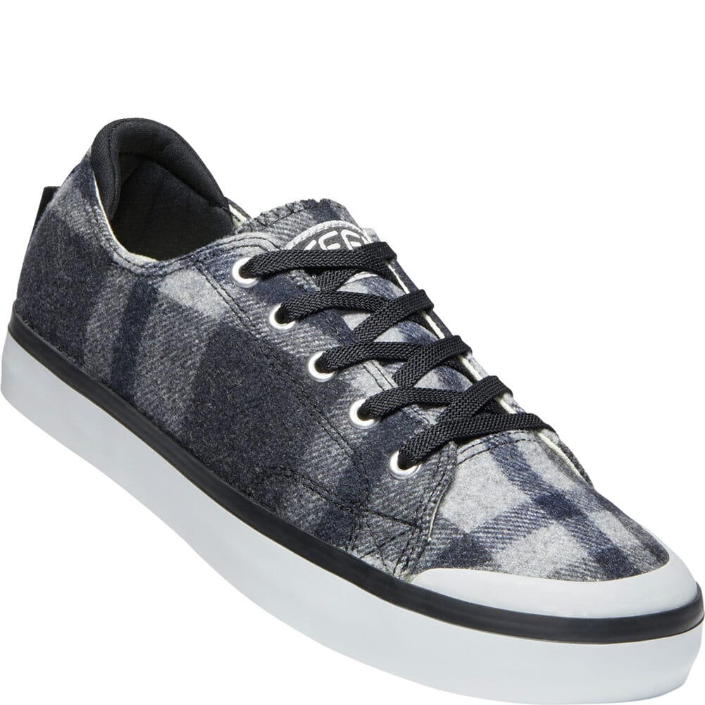 Image for KEEN Women's Elsa III Plaid Sneakers - Black Plaid/Black from bootbay