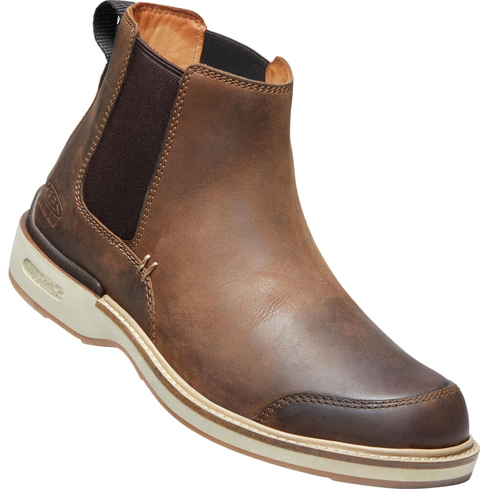 Image for KEEN Men's Eastin Chelsea Casual Boots - Veg Brown from bootbay