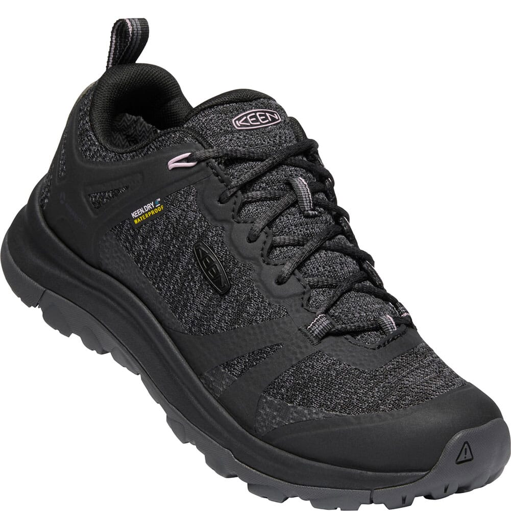 Image for KEEN Women's Terradora II WP Hiking Shoes - Black/Magnet from bootbay