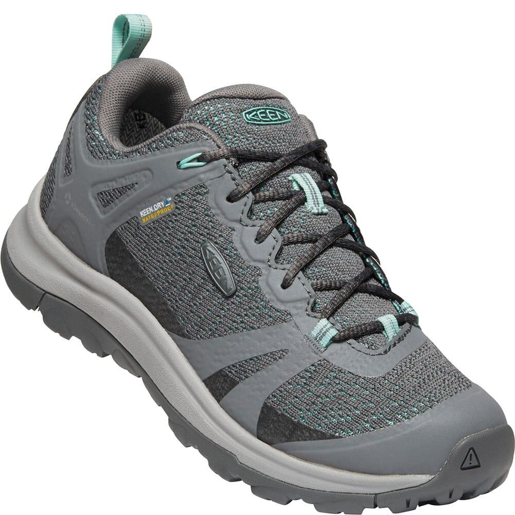 Image for KEEN Women's Terradora II WP Hiking Shoes - Steel Grey/Ocean Wave from bootbay
