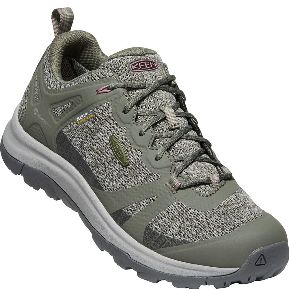 Image for 1022351 KEEN Women's Terradora II WP Hiking Shoes - Dusty Olive/Nostalgia from elliottsboots