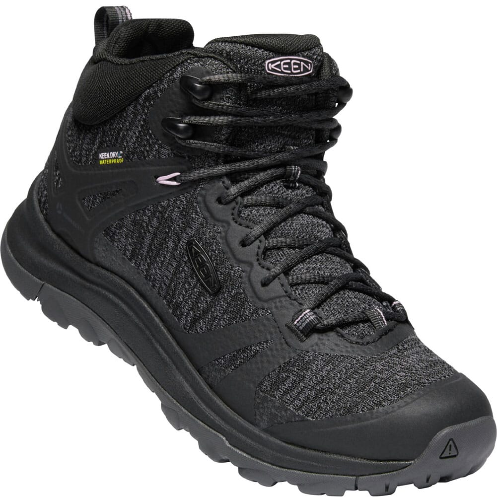 Image for KEEN Women's Terradora II WP Hiking Boots - Black/Magnet from bootbay