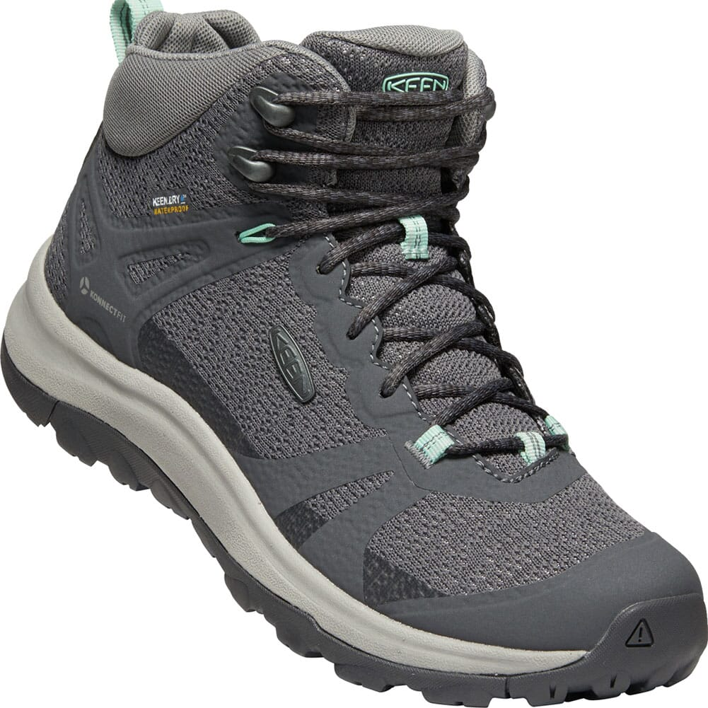 Image for KEEN Women's Terradora II Mid WP Hiking Boots - Magnet/Ocean Wave from elliottsboots