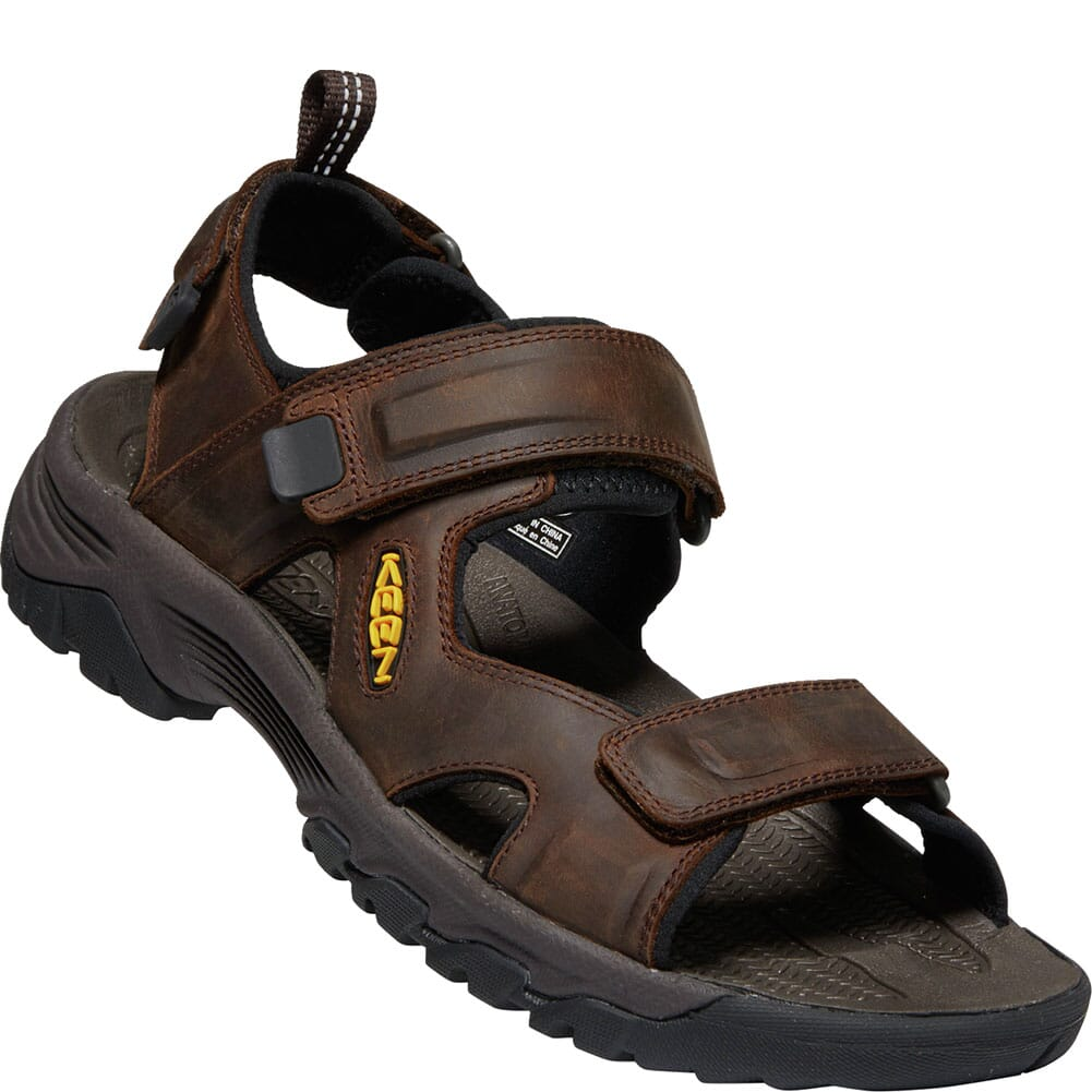 Image for KEEN Men's Targhee III Open Toe Sandals - Bison/Mulch from bootbay