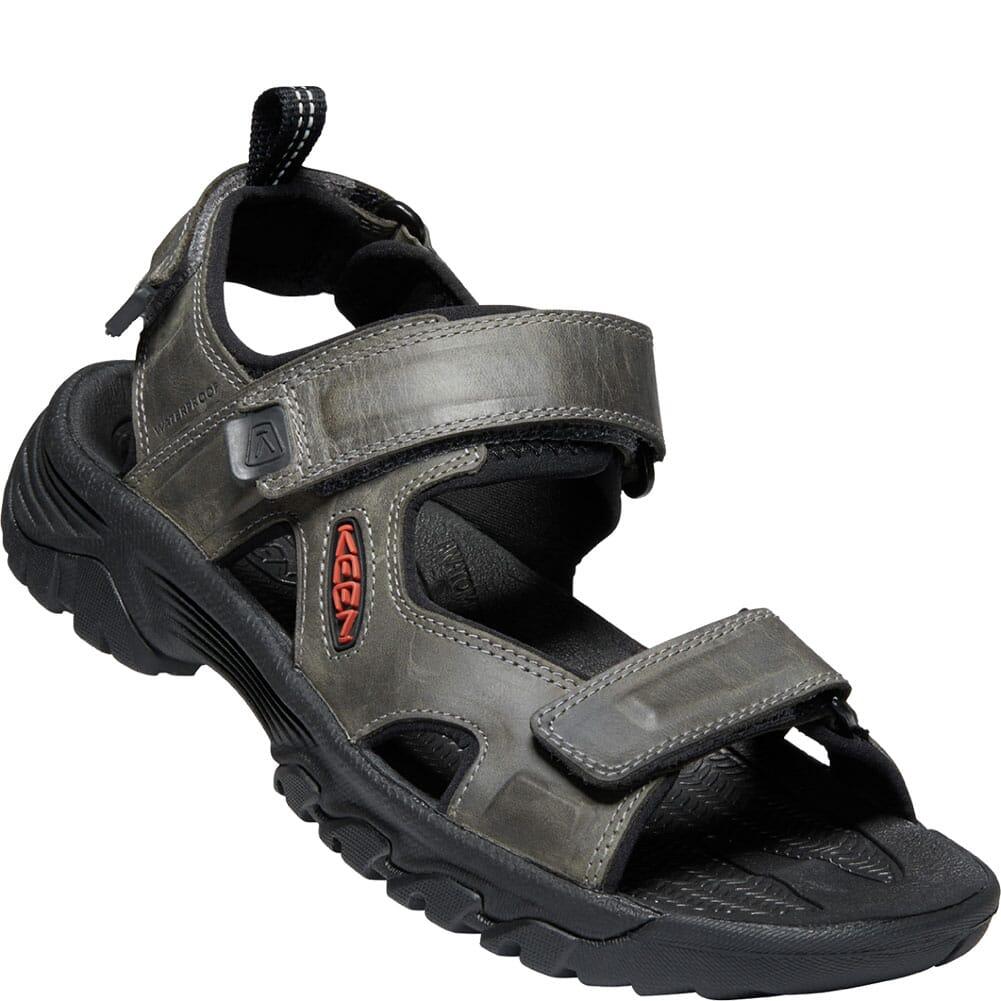 Image for KEEN Men's Targhee III Open Toe Sandals - Grey/Black from bootbay