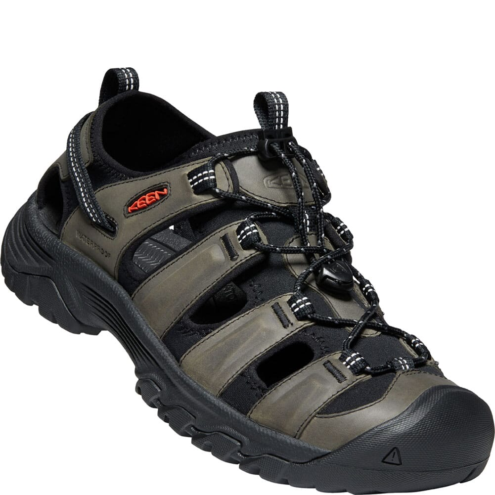 Image for KEEN Men's Targhee III Sandals - Grey/Black from bootbay