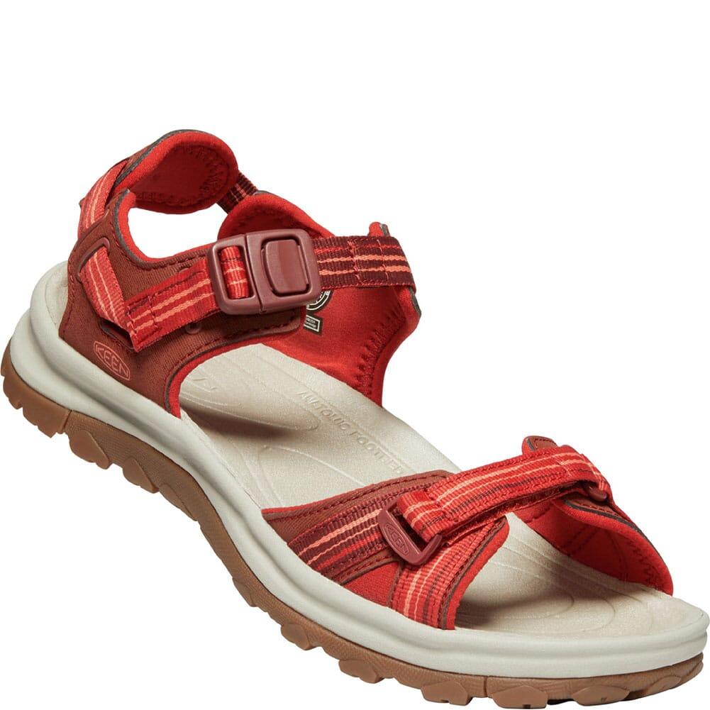 Image for KEEN Women's Terradora II Open Toe Sandals - Dark Red/Coral from elliottsboots