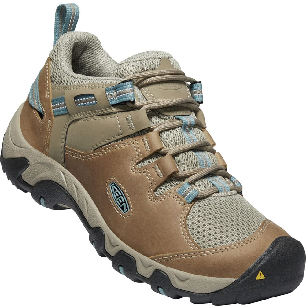 Image for KEEN Women's Steens Vent Hiking Shoes - Timberwolf/Blue from bootbay