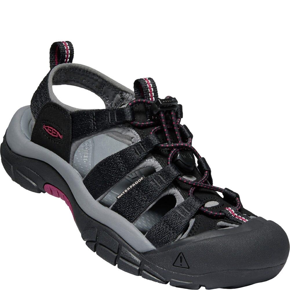 Image for KEEN Women's Newport H2 Sandals - Black/Raspberry Wine from bootbay