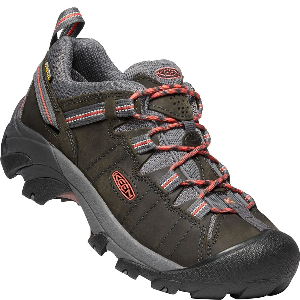 Image for KEEN Women's Targhee II Hiking Shoes - Magnet/Coral from bootbay