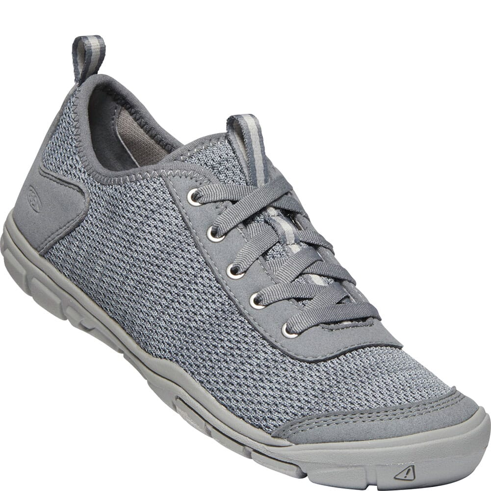 Image for KEEN Women's Hush Knit CNX Casual Shoes - Steel Grey/Drizzle from bootbay
