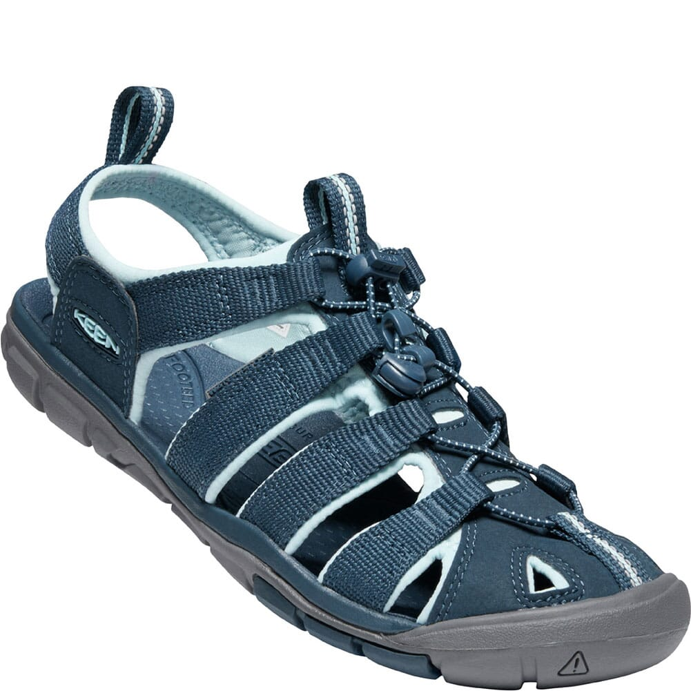 Image for KEEN Women's Clearwater CNX Sandals - Navy/Blue Glow from elliottsboots