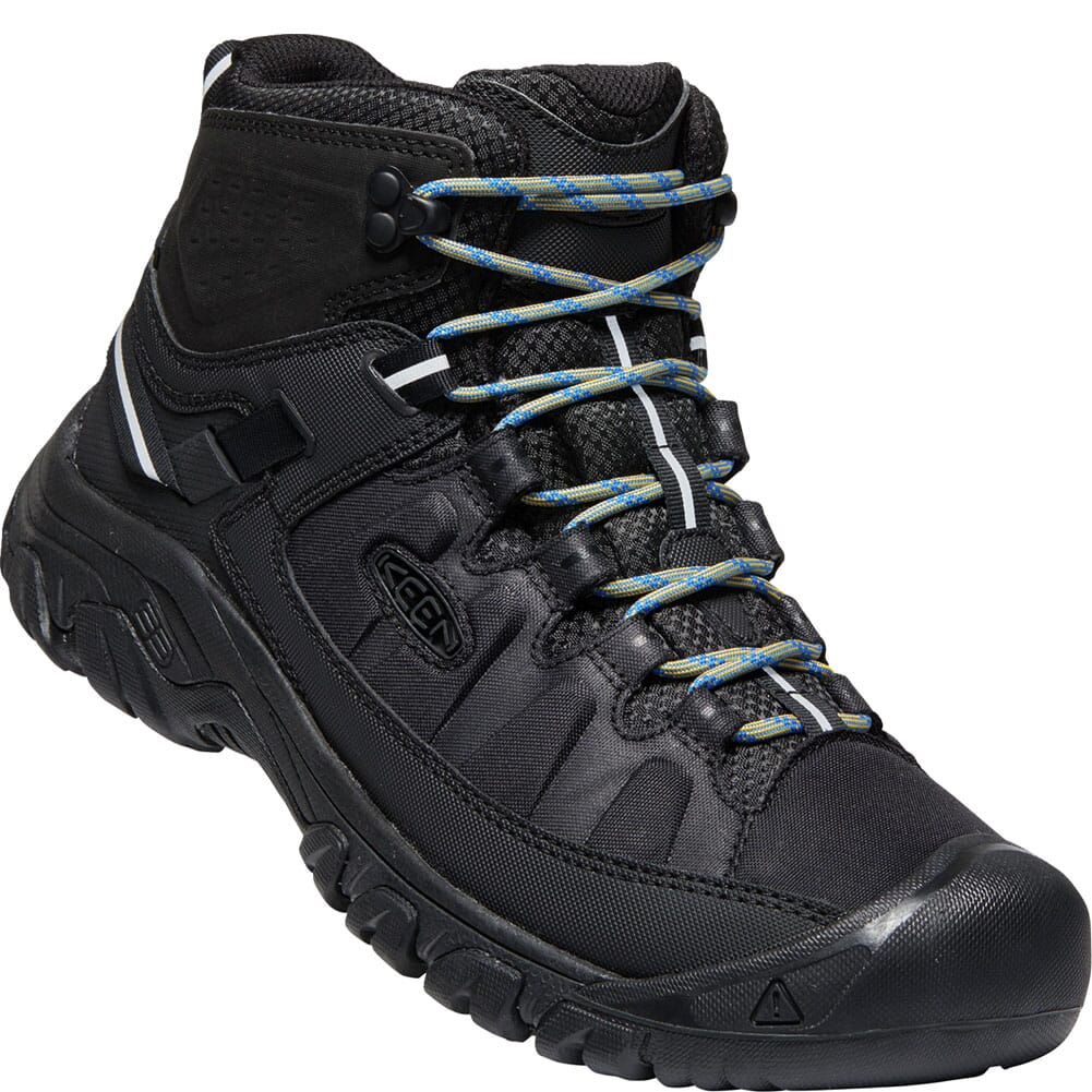 Image for KEEN Men's Targhee EXP WP Mid Hiking Boots - Black/Black from bootbay
