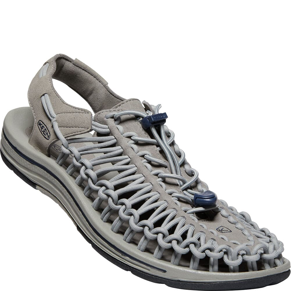 Image for KEEN Men's Uneek Casual Sandals - Steel Grey/Drizzle from bootbay