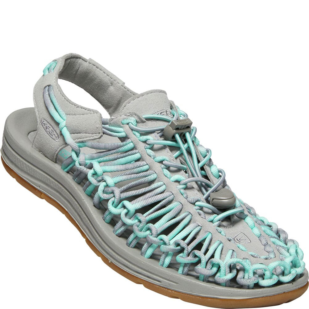 Image for KEEN Women's Uneek Casual Sandals - Star White/Drizzle from elliottsboots
