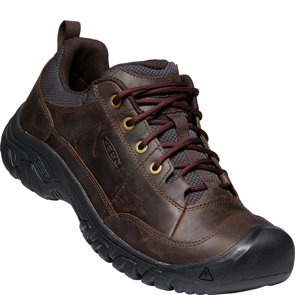Image for KEEN Men's Targhee III Wide Casual Shoes - Dark Earth/Mulch from bootbay