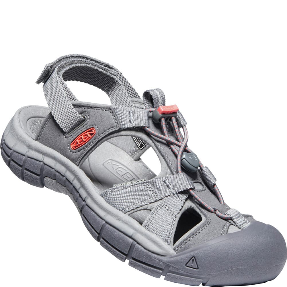 Image for KEEN Women's Ravine H2 Sandals - Steel Grey/Coral from elliottsboots