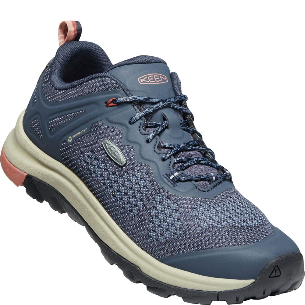 Image for KEEN Women's Terradora II Vent Hiking Shoes - Blue Nights/Redwood from bootbay