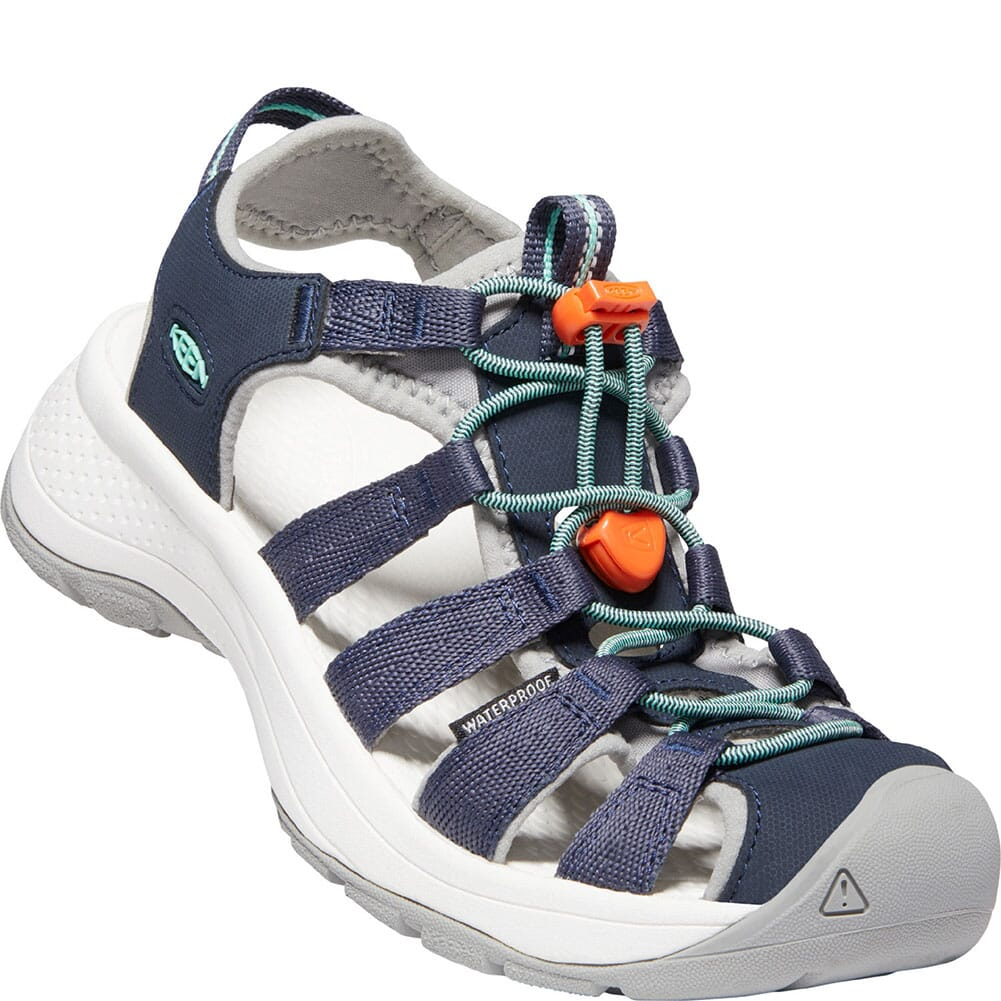 Image for KEEN Women's Astoria West Sandals - Navy/Beveled Glass from bootbay