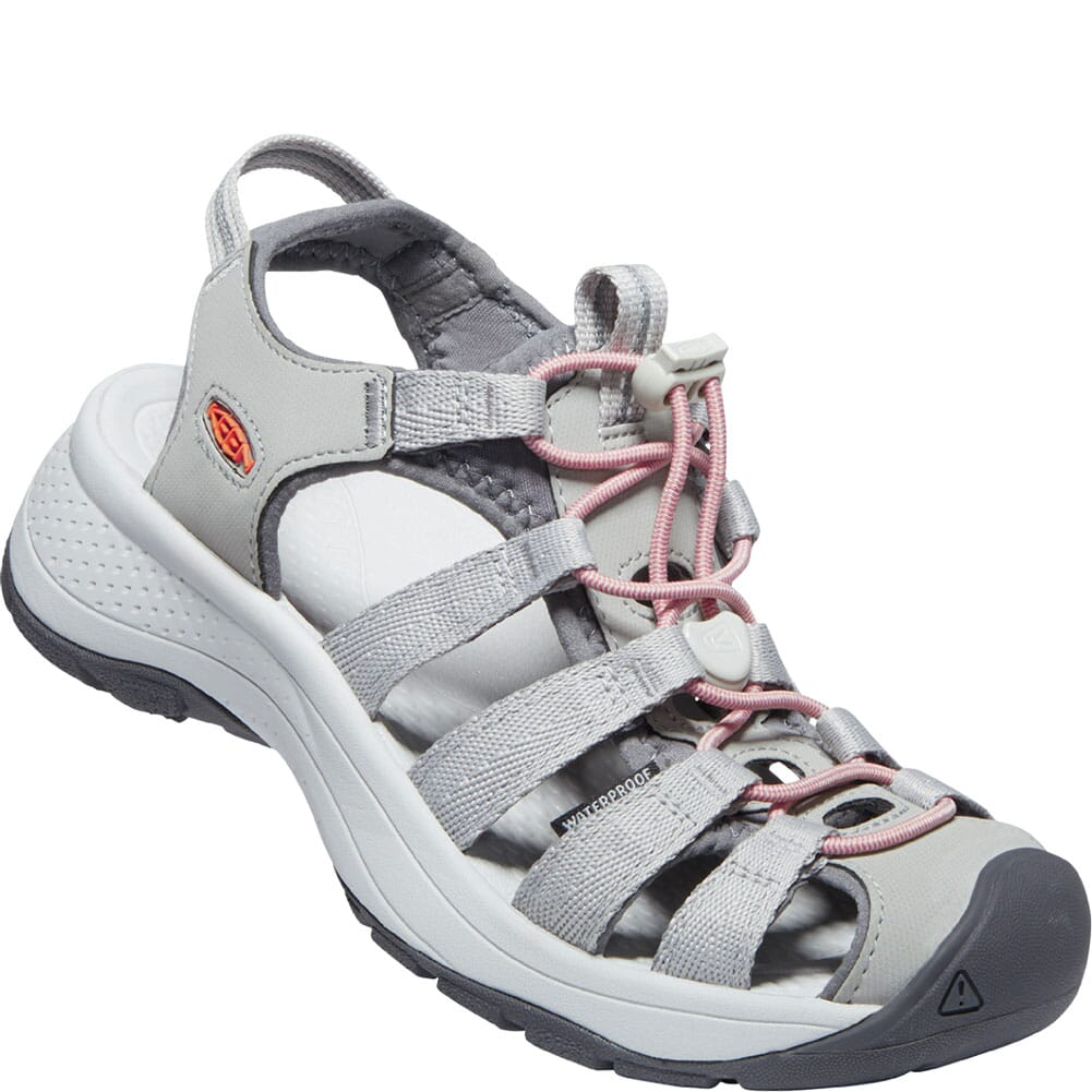 Image for KEEN Women's Astoria West Sandals - Grey/Coral from bootbay