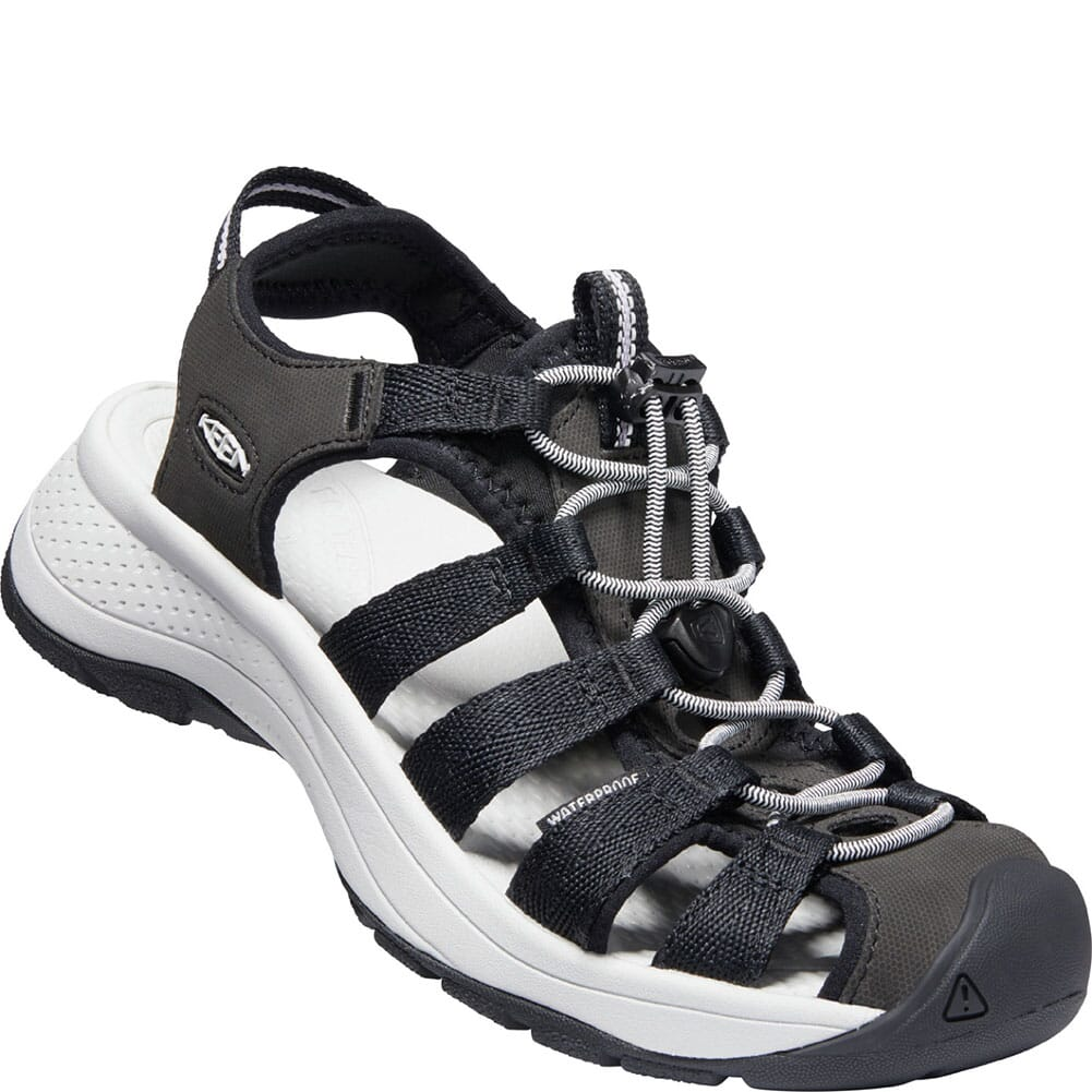 Image for KEEN Women's Astoria West Sandals - Black/Grey from bootbay