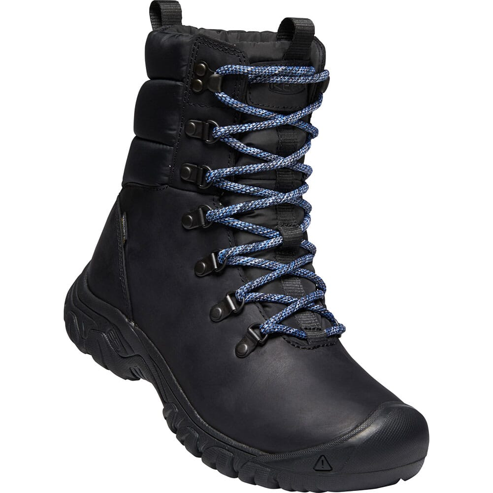 Image for KEEN Women's Greta WP Insulated Hiking Boots - Black/Black from bootbay