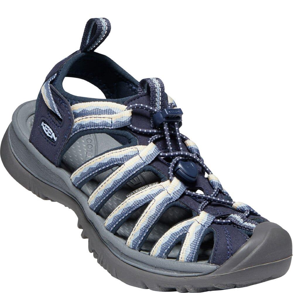 Image for KEEN Women's Whisper Sandals - Navy/Blue Fog from elliottsboots
