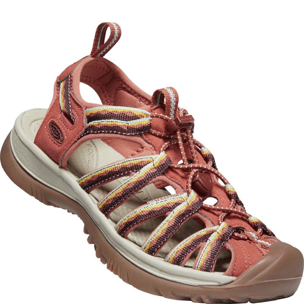 Image for KEEN Women's Whisper Sandals - Redwood from elliottsboots