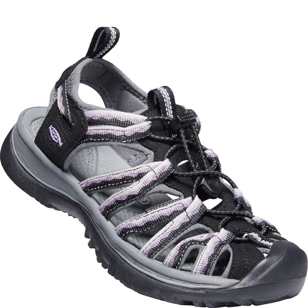 Image for KEEN Women's Whisper Sandals - Black/Thistle from elliottsboots