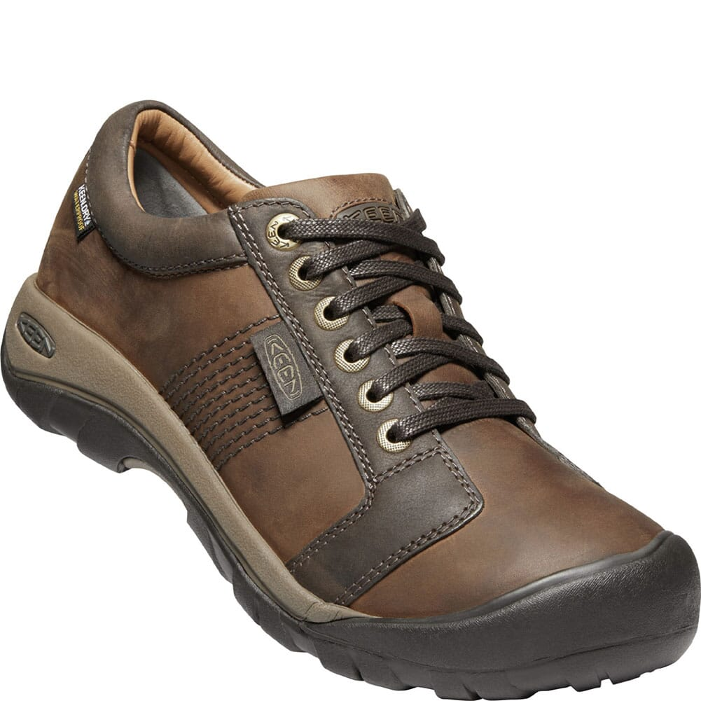 Image for KEEN Men's Austin WP Casual Shoes - Chocolate Brown from bootbay
