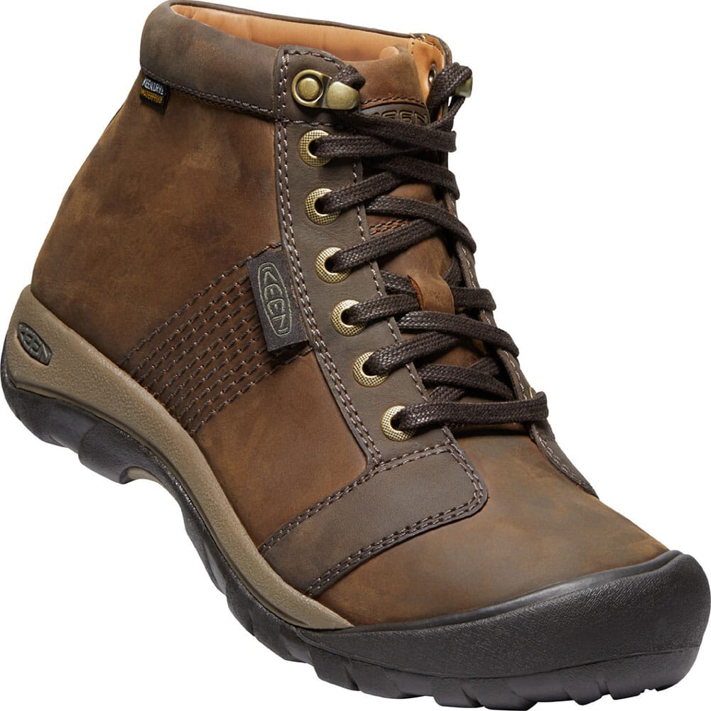 Image for KEEN Men's Austin WP Casual Boots - Chocolate Brown from bootbay