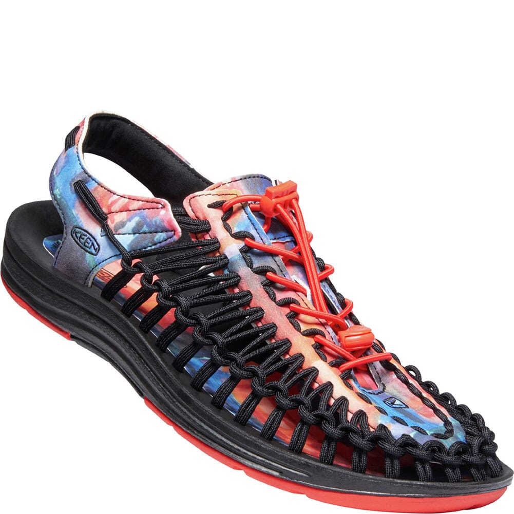 Image for KEEN Women's UNEEK x Garcia Sandals - New York at Night from elliottsboots
