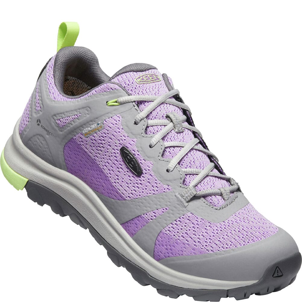 Image for KEEN Women's Terradora II WP Hiking Shoes - Drizzle/Violet from bootbay
