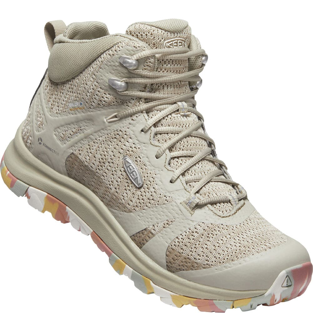 Image for KEEN Women's Terradora II WP Hiking Boots - Brick Dust/Birch from bootbay